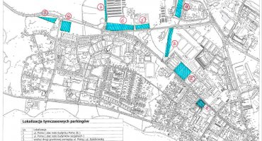 Informacja o alternatywnych parkingach w dniu 24 lipca!
